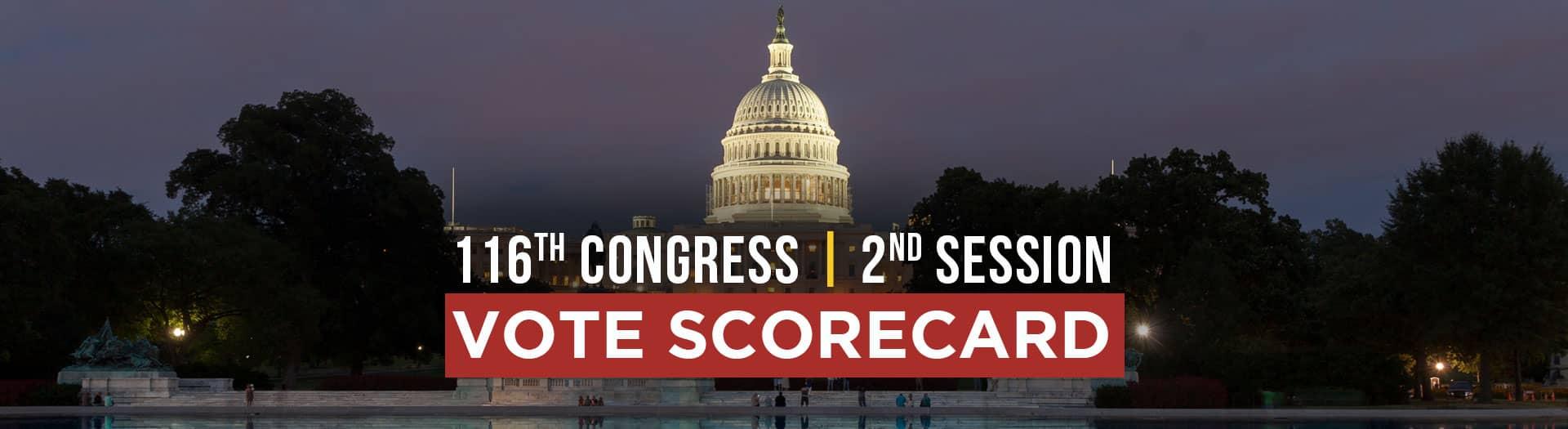 congress scorecard