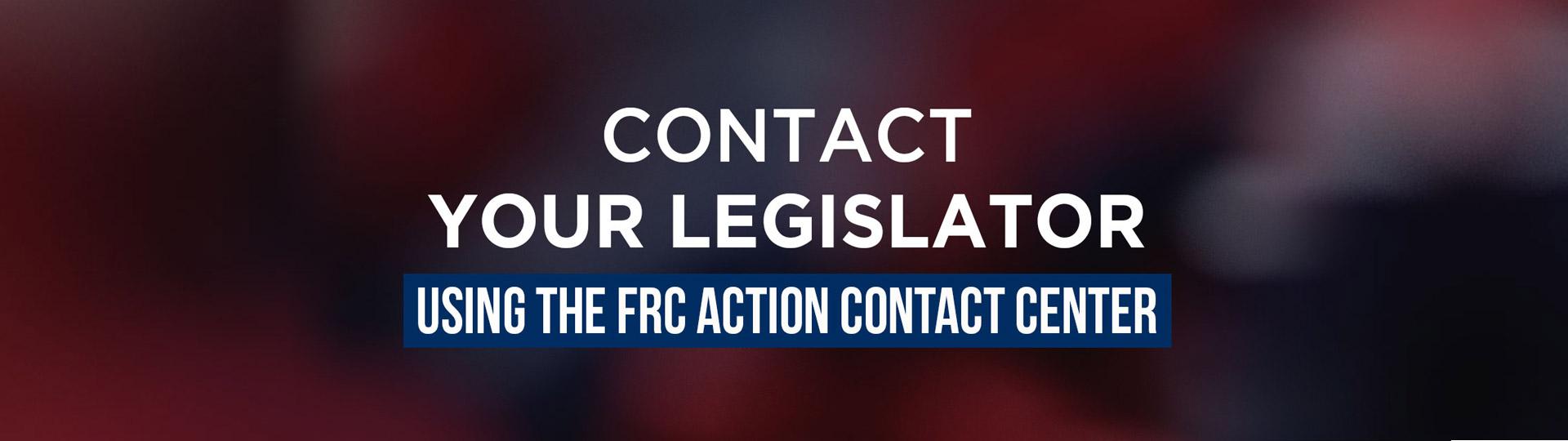 Contact Your Legislator