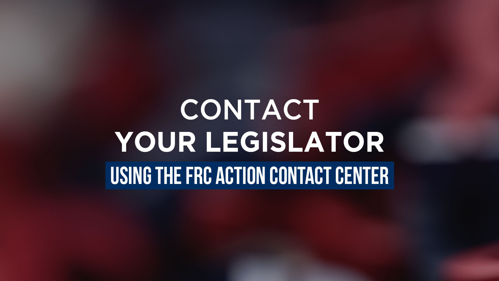 contact your officials