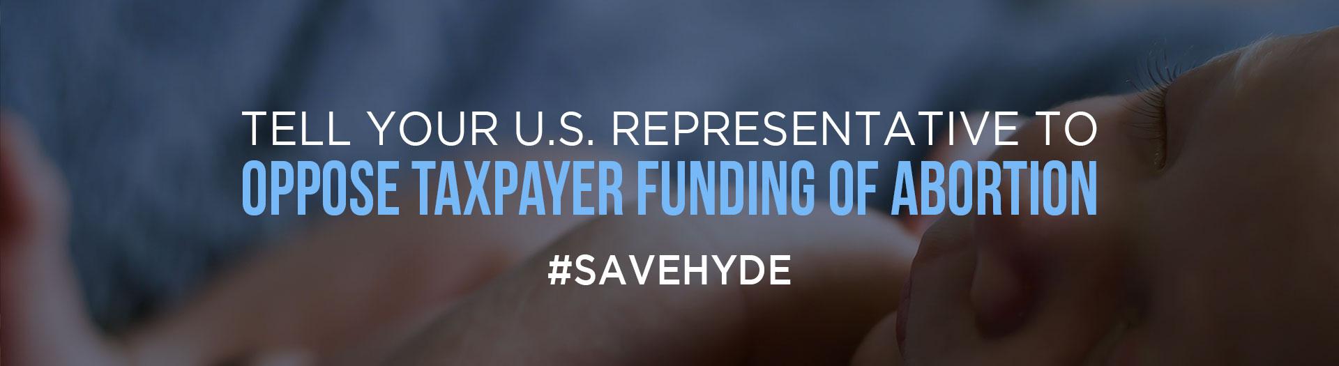 Save the Hyde Amendment