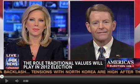Tony Perkins on Fox News