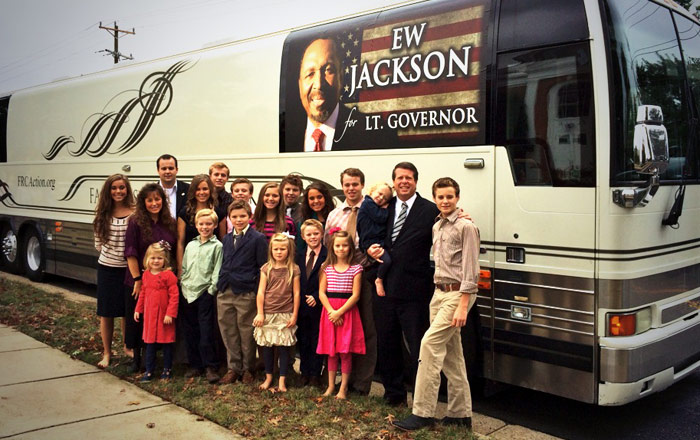 The Duggars tour Virginia